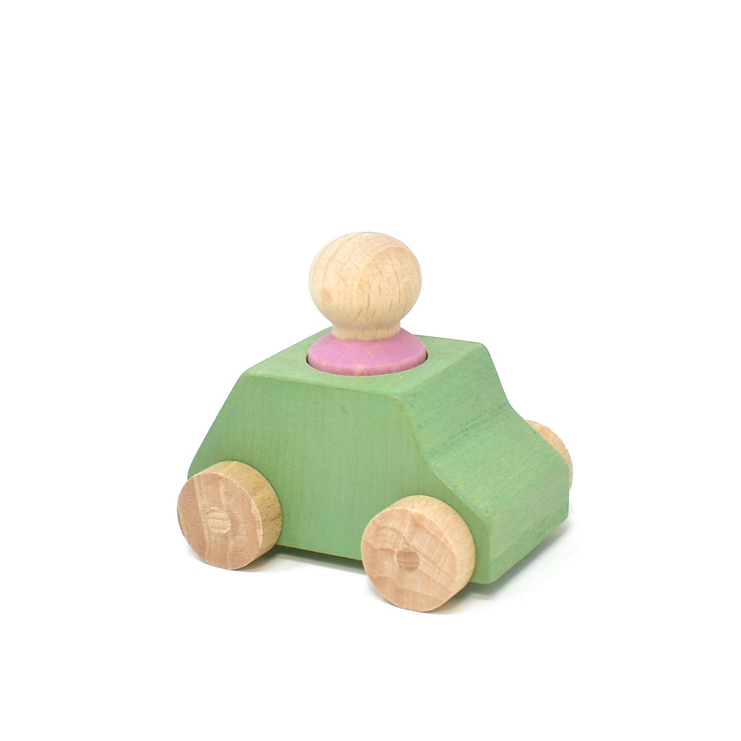Lubulona Car Mint with pink figure