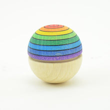 Load image into Gallery viewer, Mader Roly Poly Wiggle Ball Rainbow