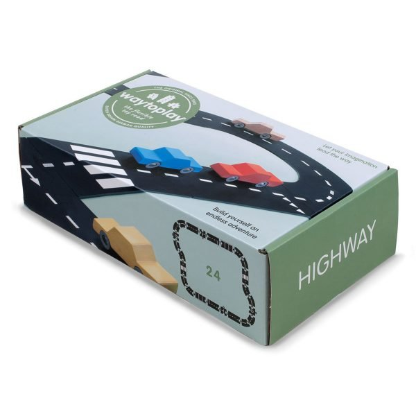 Waytoplay Highway Set - 24 pieces