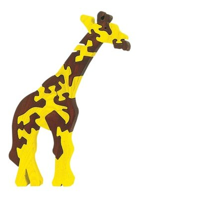Fauna Giraffe wooden puzzle 14 pieces