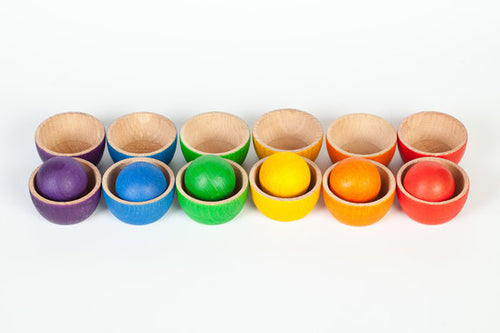 Grapat Coloured Bowls and Ball Set