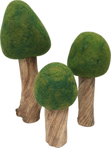 Papoose Summer Trees Set of 3