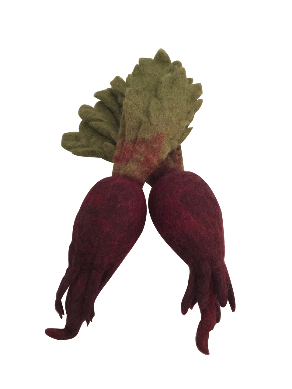 Papoose Fair Trade Felt Beetroot