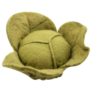 Papoose Fair Trade Felt Cabbage/Lettuce