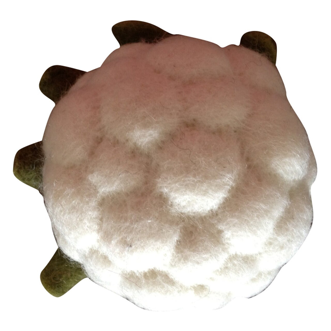 Papoose Fair Trade Felt Cauliflower