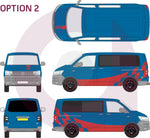 Volkswagen Transporter Stripes | VW Graphics