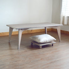LOW Coffee Table Set 2-Piece GREY: With Pillow Lift