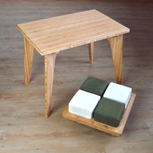 Side Table | Accent Table | Altar |LOW Chair | Bamboo Seat | Meditation Set | Yoga Chair | Work | Meditation | Study | Craft | Dining | Accent | Natural Latex foam | Natural Fabric | Recycled Fabric | Organic Cotton, Hemp, Wool |Sustainable Furniture | Zero-Waste Furniture | Scandinavian, Contemporary, Mid-Century, Japanese Inspired | Made in CANADA