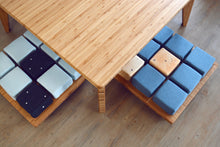 LOW Small Table Set 5-Piece: Large Seat