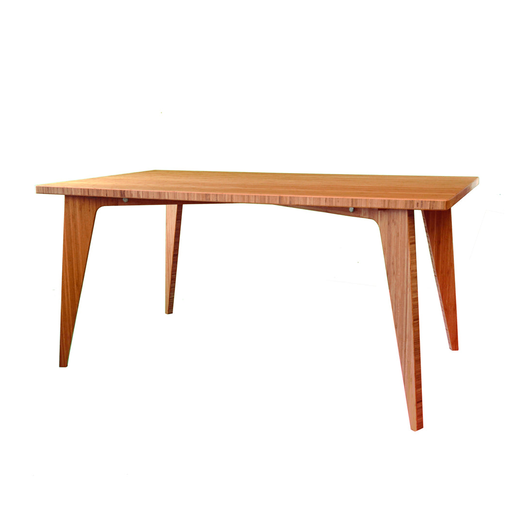 Bamboo Furniture |Bamboo Table | Large | Work | Study | Craft | Dining | Sustainable Furniture | Zero-Waste Furniture | Scandinavian, Contemporary, Mid-Century, Japanese Inspired | Made in CANADA