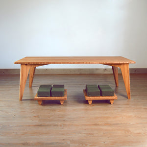 LOW Coffee Table Set 5-Piece: Small Seat (Floor Cushion)