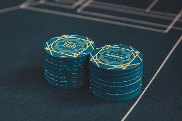 Ceramic Poker Chips | SLOWPLAY - Professional Poker Supplies