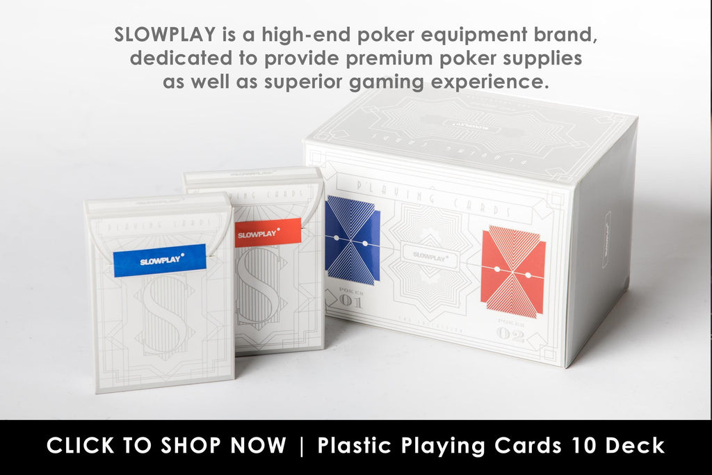 Plastic Playing Cards in Bulk | SLOWPLAY