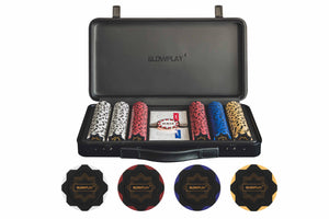 Nash Clay Poker Chip Set [300pcs without denomination] | Exquisite Craftsmanship | SLOWPLAY