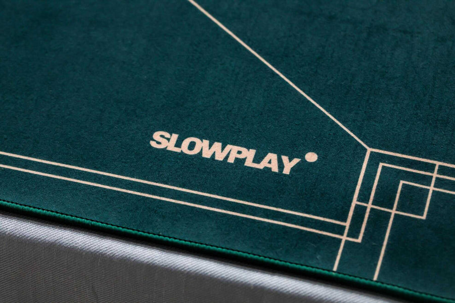 Nash Texas Hold'em Poker Mat | Spill-Proof and Stain-Resistant | SLOWPLAY