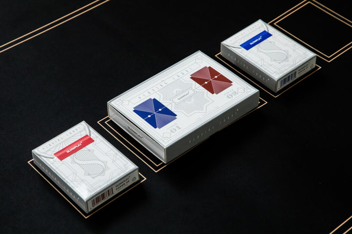 Plastic Playing Cards |  2-Deck Poker Card Set | SLOWPLAY