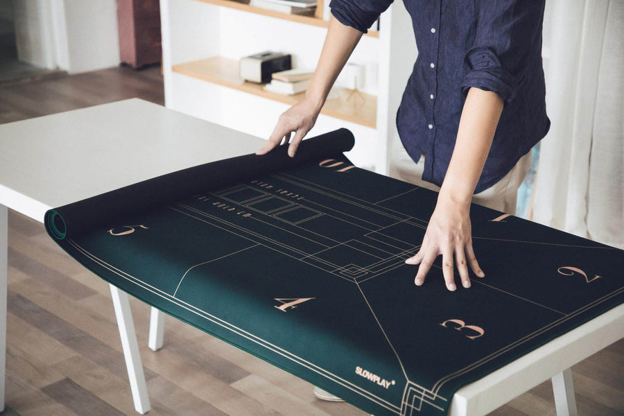 Nash Texas Hold'em Poker Mat | Portable. Start your game anywhere you like. | SLOWPLAY