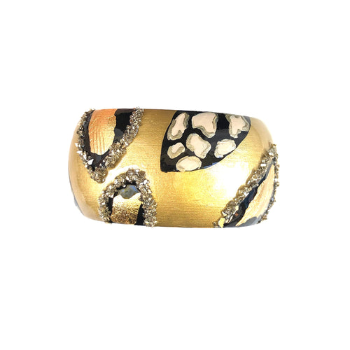 NEW! Gold Print Bangle