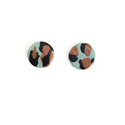 Medium Button - Teal