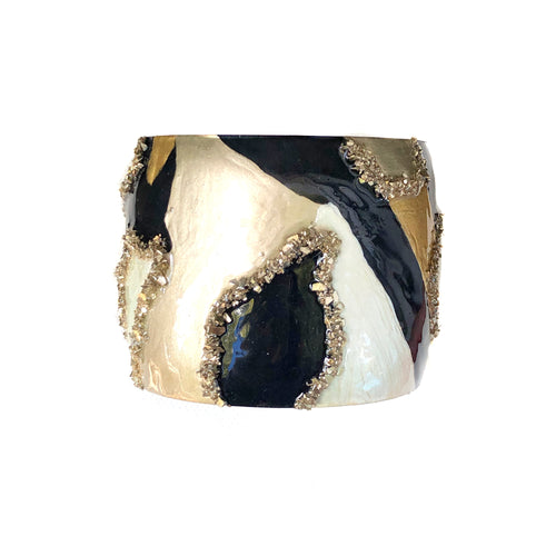 NEW! Black & Gold Cuff
