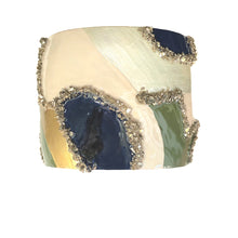 Load image into Gallery viewer, Sage & Navy Cuff