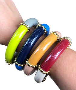 Thick Bangle - 4 Color Options