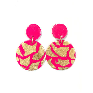 NEW! Darcy - Hot Pink & Gold