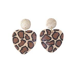 Cheetah Hearts - 2 Color Options