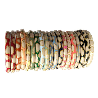 Oyster Bangle - 21 Color Options