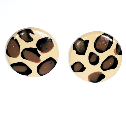 Large Button - Cheetah