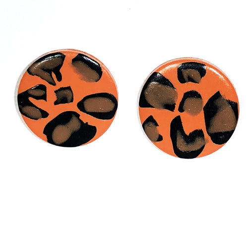 Large Button - Orange