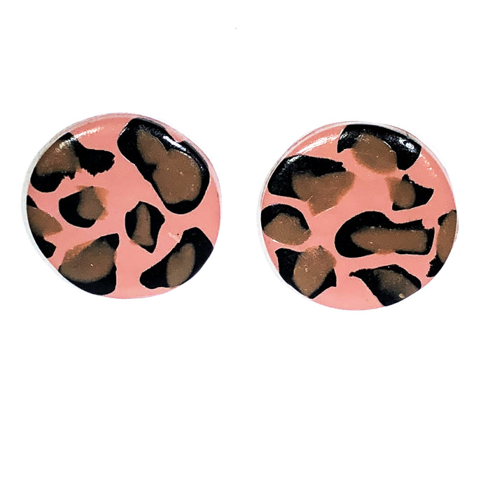 Large Button - Pink