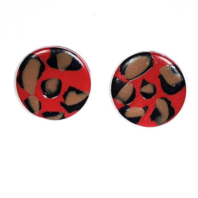 Large Button - Red