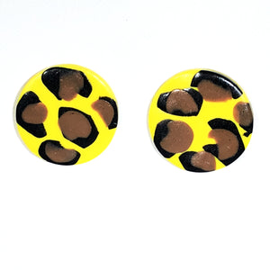 Large Button - Yellow