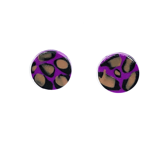 Medium Button - Purple