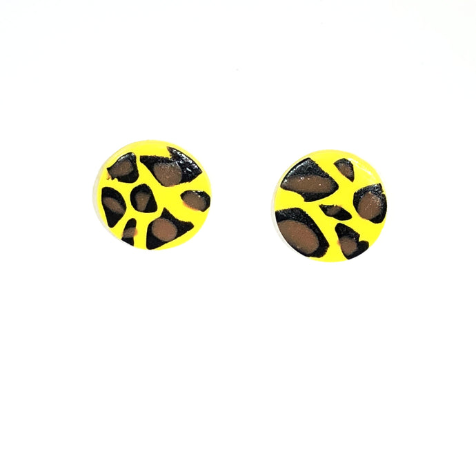 Medium Button - Yellow