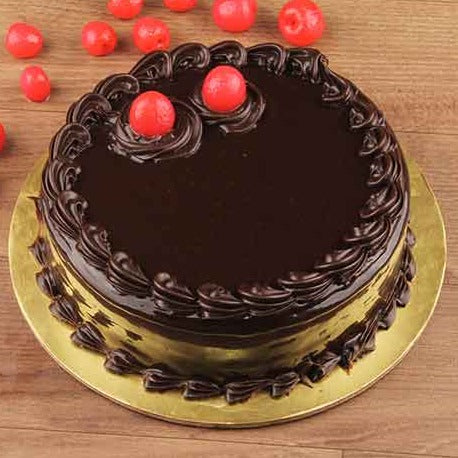 Dark Chocolate Eggless Cake