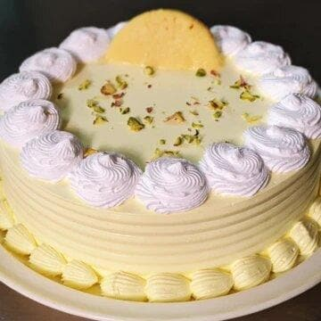 Apple Rasmalai Cake - LayerBite