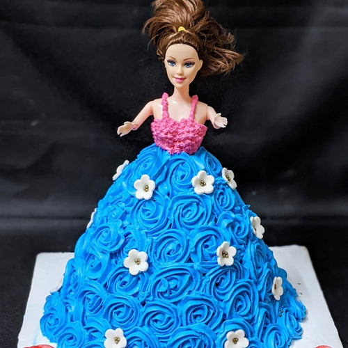 Barbie Doll Cake - LayerBite