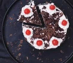 Black Forest Eggless Cake - LayerBite