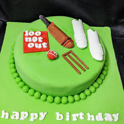 Cricket Theme Cake - LayerBite