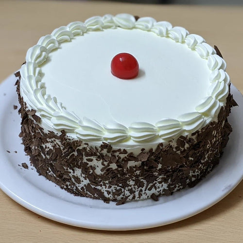 Eggless Classic Black Forest Cake - LayerBite