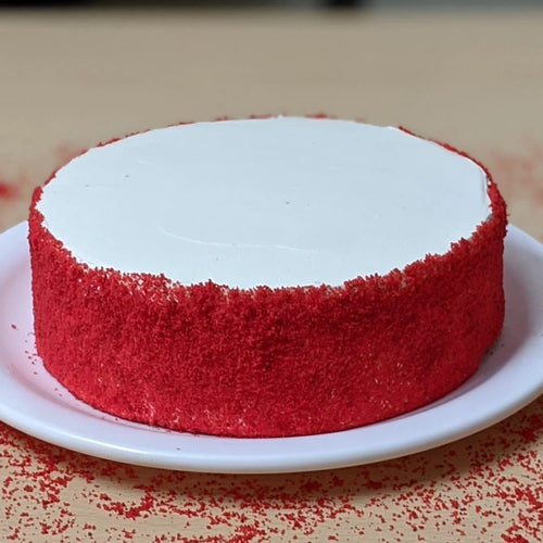 Eggless Red Velvet Cake Delight - LayerBite
