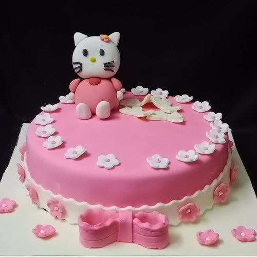 Kitty Designer Cake - LayerBite