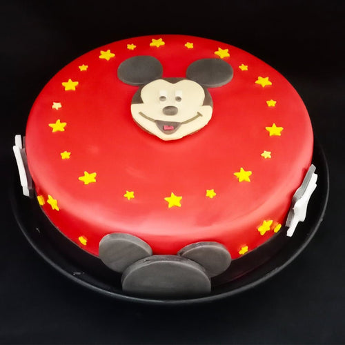 Mickey Mouse Cake - LayerBite