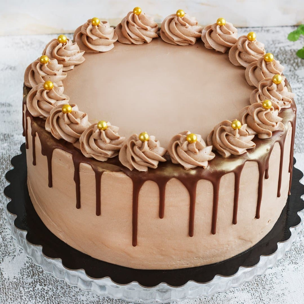 Rich Chocolate Truffle Cake - LayerBite