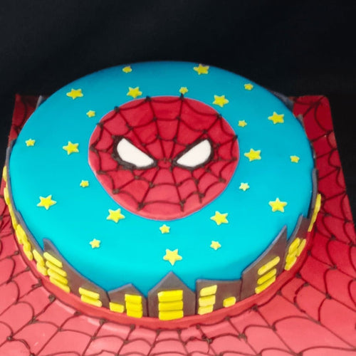 Spiderman Cake - LayerBite
