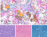 PREORDER-Pastel Cats NO panel-Grow with Me Cowl