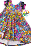 PREORDER-I Love the 80s-Luna Dress