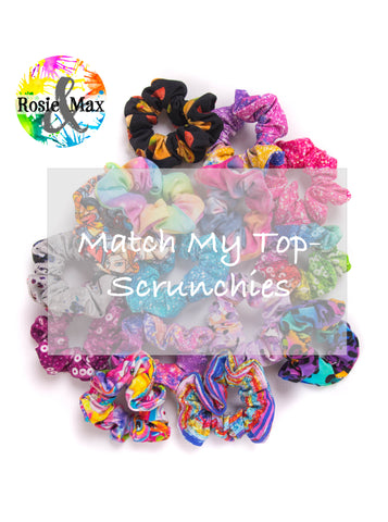 Match My Top-Scrunchies